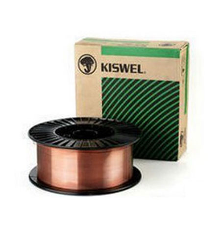 Kiswel Carbon Steel Solid Mig Wires