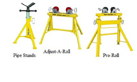 Sumner Pipe Stands, Pro Roll,Adjust-A-Roll